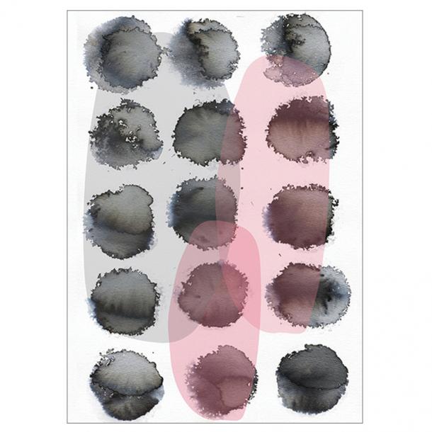 Dots and Shades kunstplakat