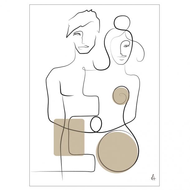 Lovers Kunstplakat