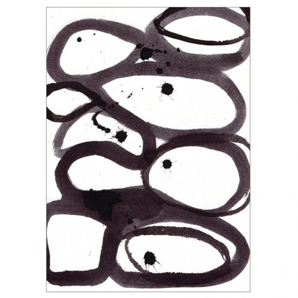Scribbles kunstplakat